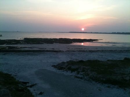 Plage du Guilvinec, coucher de soleil 2