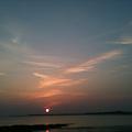 Plage du Guilvinec, coucher de soleil 1