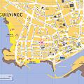 Localisation de la maison au Guilvinec