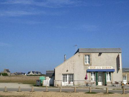 Le Bar de l'Océan, plage de Penhors, Pouldrezic